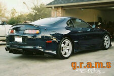 Toyota Supra MKIV Ridox RDX Style Low Level Lip Spoiler, Aero Ducktail Bodykit 4