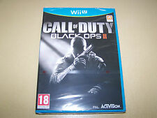 Call of Duty: Black Ops II Nintendo Wii U **New & Sealed**