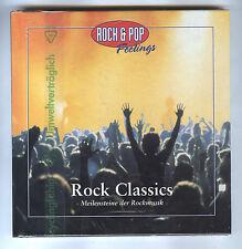 CD Rock Classics Meilensteine der Rockmusik mit Handbuch  NEU ovp