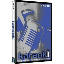 PCDJ Karaoki Karaoke Software **BRAND NEW** Electronic Download Karaoke