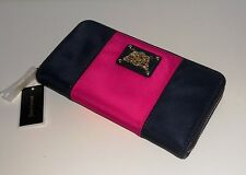Juicy Couture Continental Nylon Zip Wallet NEW with Tags**