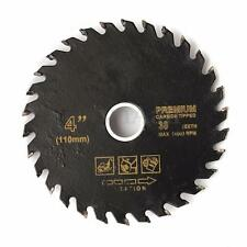110mm 4'' Circular Carbide-Tipped Power Cutting Disc Saw Blade Wood Woodworking