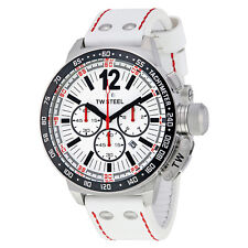 TW Steel CEO Canteen Chronograph White Dial Mens Watch CE1014R