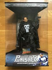 """THE PUNISHER 12"""" Collector's Edition in Case, Toy Biz Marvel Studios Figure 2002"""