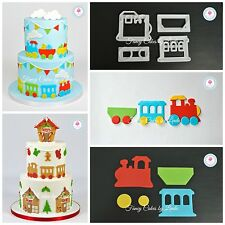 FMM Train Cutter Set Cake Decorating FREE 1st CLASS DELIVERY 1 Day Dispatch