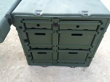 PELICAN HARDIGG PORTABLE MILITARY FIELD DESK USGI ARMY TABLE