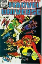 Official Handbook of Marvel Universe # 14 (Dead & inactive 2) (Estados Unidos, 1984)