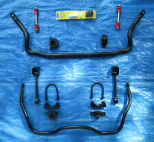 FRONT & REAR SWAY BAR CHEVY S10 XTREME SONOMA COMPLETE BOLT ON KIT ZQ8