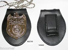 NCIS Réplique Badge agent du NCIS avec porte badge Ncis badge replica w/ holder