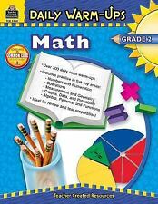 Daily Warm-Ups Math Grade 2 Book by Teacher Created Resources