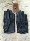 Driving Leather Gloves Deerskin Car Glove Auto Gloves black brown cognac Tan