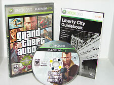 Grand Theft Auto IV 4 (XBOX 360)     ****NICE****  FREE SHIP!!