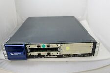Juniper J-6350-JB 4-Ports Gigabit Router w/ 2x JX2T1-RJ48-S & 1xAC Power #162617