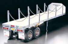 Tamiya 1/14  FLATBED  Semi-Trailer  Model Kit   for  R/C Tractor Truck  # 56306