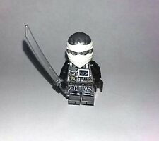 2017 LEGO NINJAGO Zane Ninja MINIFIGURE W/ Weapon New minifig From set 70624
