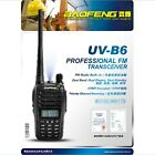 Newest Version UV-B6 Baofeng VHF/ UHF Dual Band Walkie Talkie Two-Way Ham Radio