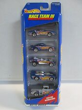 Hot Wheels Gift Pack Race Team III 5 Pack