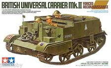 Tamiya 35249 1/35 Model Kit British Universal Carrier MkII Forced Reconnaissance