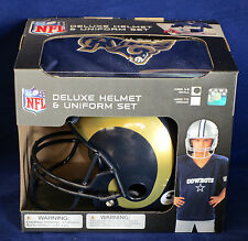 ST LOUIS RAMS Halloween Costume - Kids Football SMALL Deluxe Youth UNIFORM SET