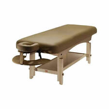 Spa Luxe - Stationary Massage Table (includes Headrest and Arm Shelf)