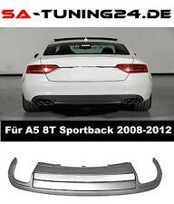 DIFFUSORE per Audi a5 8t SPORT BACK s5 LOOK SPOILER approccio posteriore paraurti #23