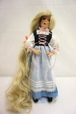 Limited Edition Rapunzel Porcelain Doll by Knowles China Company With COA