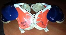 Rawlings Billy Canmon CP3 ArmorLite Youth Football Vintage 1950s Shoulder Pads