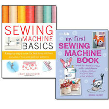Sewing Machine Basics Collection 2 Books Set by Jane Bolsover & Emma Hardy NEW