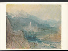 Museum Postcard - Water-Colour: Hospenthal, Fall of St Gothard   LC5082