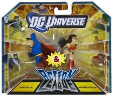 DC Comic Universe Action League Superman & Wonder Woman Action Figure
