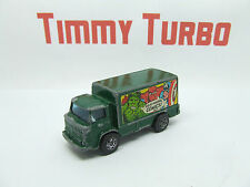 CORGI JUNIOR LEYLAND TERRIER MARVEL COMICS HULK SPIDERMAN CAPTAIN AM TRUCK GREEN