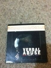 verbal abuse red,white,violent  1995 advanced cd promo thrash metal