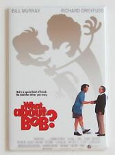 What About Bob? FRIDGE MAGNET (2 x 3 inches) movie poster bill murray