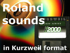 Kurzweil sounds from Roland D50 JD800 JV1080 for k2600  pc3 pc3k8 pc3k7 pc3k6