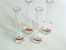 4 Stück  leere Glasflaschen, Schnapsflaschen, Likör Sammlung R.Jelinek selten V