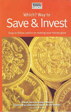 """""""Which?"""" Way to Save and Invest 2002 (""""Which?"""" Consumer Guides),VERYGOOD Book"""