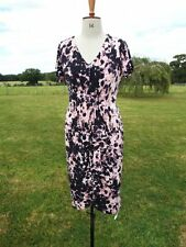 Pretty CHANGES by Together Black Mix Pull On Tea Dress With Stretch Size 16 BNWT