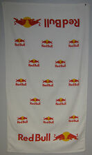 "Lot of 2 - Red Bull Towels 2 sided print - 24""x42"" Velour Towels"
