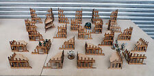 Wargames scenery 26 ruiné buildings warhammer 40K 28mm bolt action terrain a