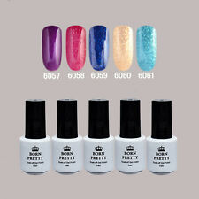 5 Flasche BORN PRETTY Soak Off One-step Gel 5ml Nagellack Maniküre 6057-6061