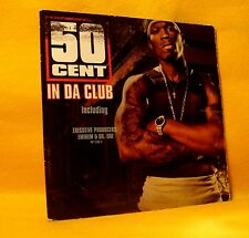 Cardsleeve single CD 50 Cent In Da Club 2TR 2003 Hip Hop Rap