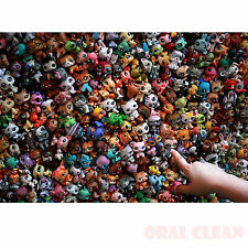 100% Original 20 pcs Littlest Pet Shop Lot Girl RARE Loose Figures Child Toy Gif