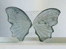 Natural Blue Paraiba Tourmaline Hand Carved Butterfly Wings Pair Gemstone (0155)