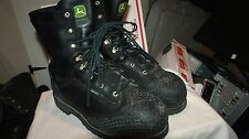 Mens Dan Post John Deere Steel Toe MET Cold Weather Waterproof Work Boots Sz 14W