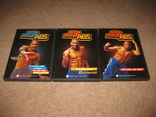 4 Lot Shaun T Hip Hop Abs DVDs - Cardio Last Minute Abs Hips Thighs