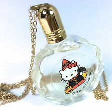 VTG SANRIO ❤︎ HELLO KITTY ❤︎ RARE MINI PERFUME NECKLACE ❤︎ WITCH KAWAII FULL 80s