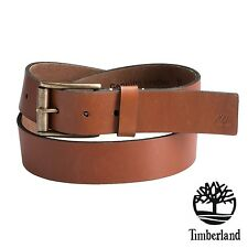 NWT Timberland Men's Rich Leather Belt 38 mm Classic Premium Business Size 38