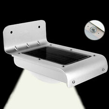 16LED Solar Power Motion Sensor Garden Security Lamp Outdoor Waterproof Light DE