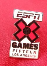 ESPN X Games Fifteen (Extreme Sports)  Los Angeles  Lapel Pin New
