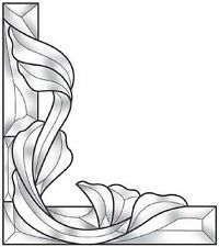 Stained Glass Supplies Fancy Corner Bevel Cluster EC961L